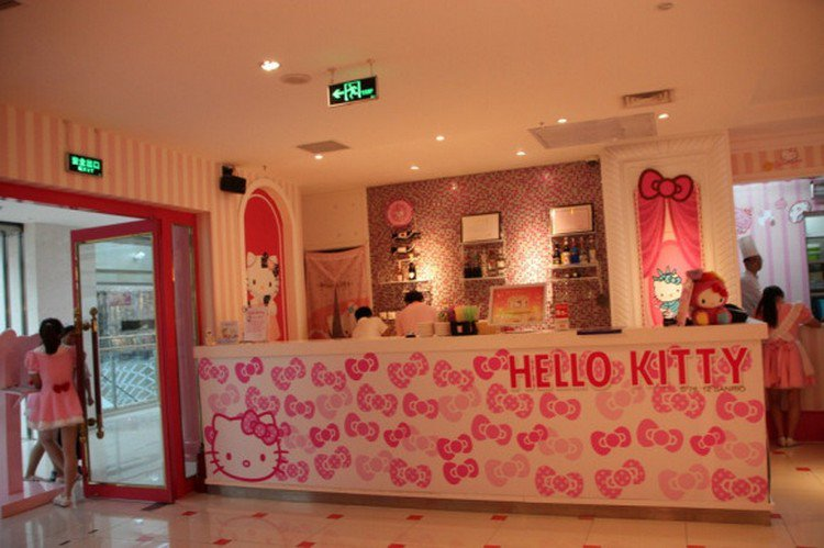 hello kitty reception