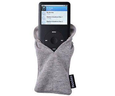 iPhone hoodie grey