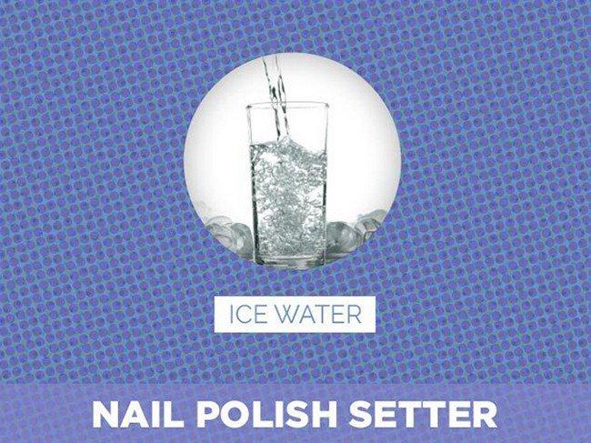 ice water nail polish setter