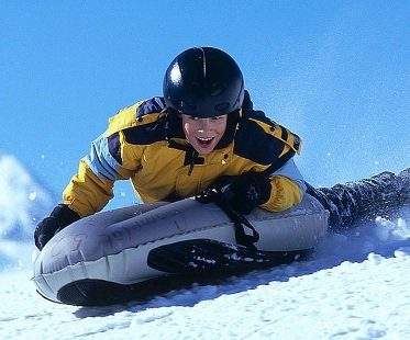 inflatable sled