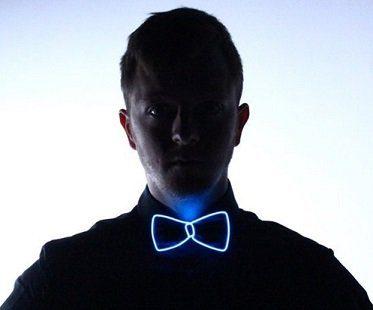 light up bow tie
