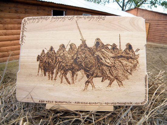 lotr-chopping-board