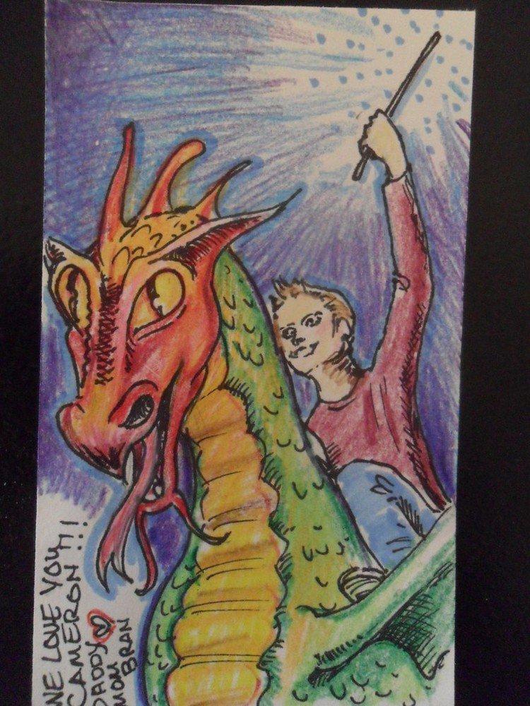 note boy dragon