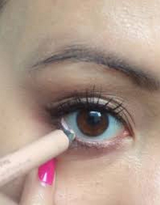 nude liner eye