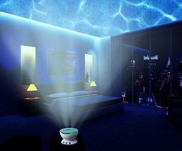 ocean wave light projector
