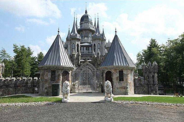 Outside Chrismark Castle Gates