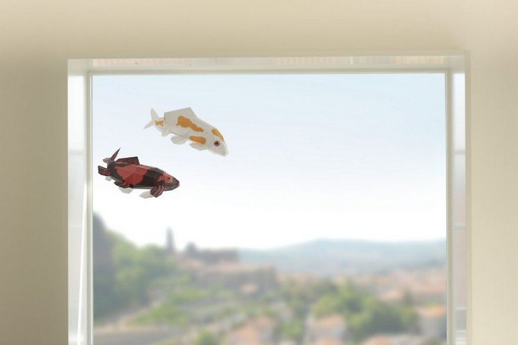 pair fish window