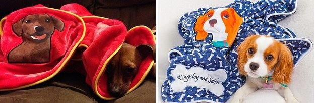 personalized-dog-blankets