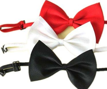 pet bow tie colours