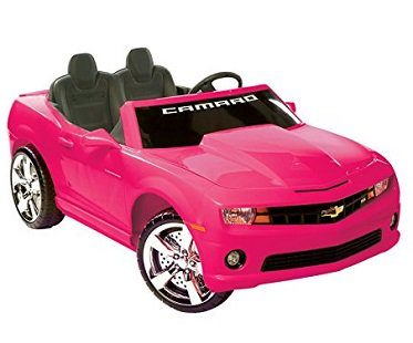 pink camaro battery car chevrolet