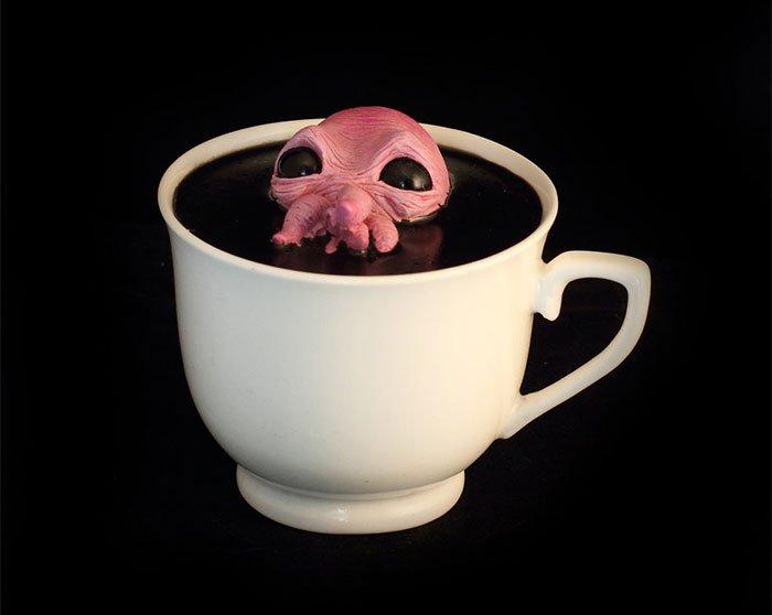 pink creature cup