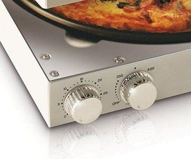 pizza box oven controls