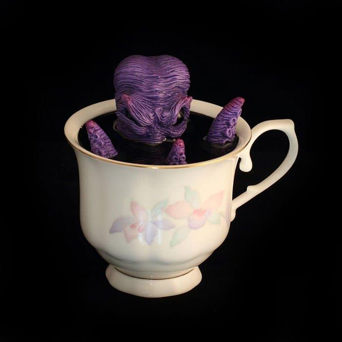 purple creature cup