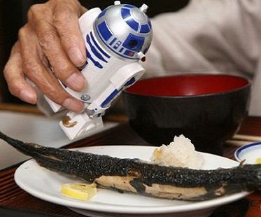 r2-d2 soy sauce dispenser bottle