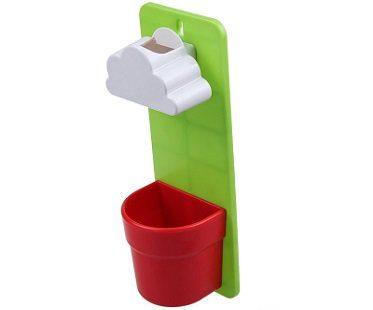rain cloud watering pot green