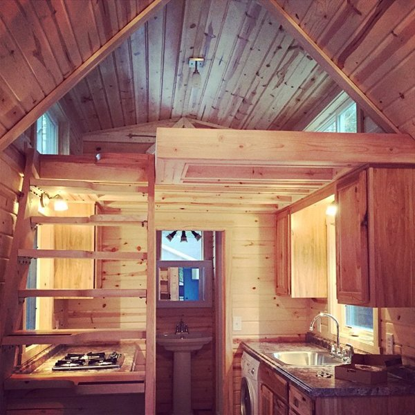 Sensational Step Inside This Colorful Tiny House And You Will Be Amazed At Largest Home Design Picture Inspirations Pitcheantrous