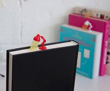 reading lamp bookmark