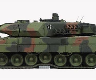 remote control tank camouflage side