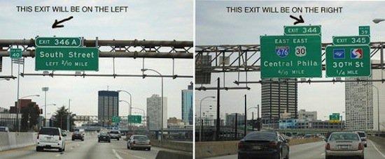 road-exits