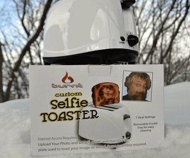 selfie toaster burnt