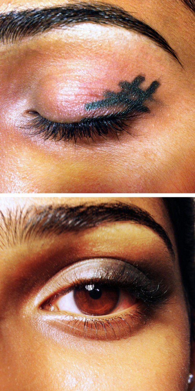 smoky eye in seconds