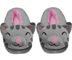 soft kitty slippers