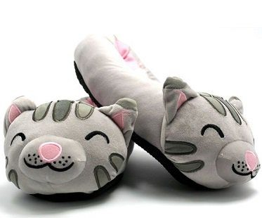 soft kitty slippers big bang theory