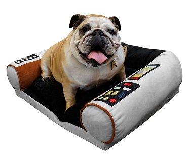 star trek dog bed captains chair