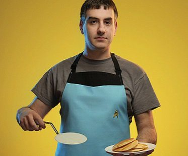 star trek uniform apron
