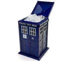 tardis ice bucket doctor who