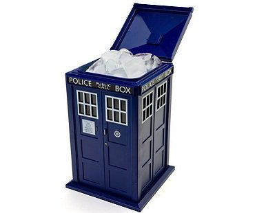 tardis ice bucket doctor who