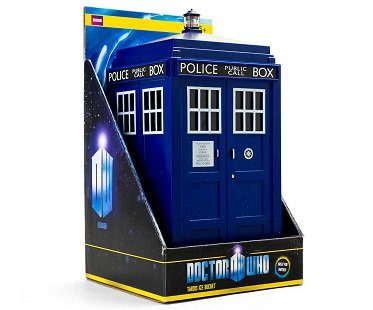 tardis ice bucket doctor who box