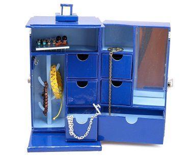 tardis jewelry box doctor who open