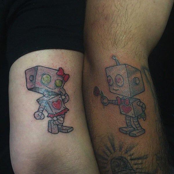 Cute Robots Tattoos Tattoo Robots