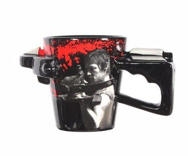 the walking dead crossbow mug
