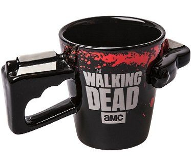 the walking dead crossbow mug back