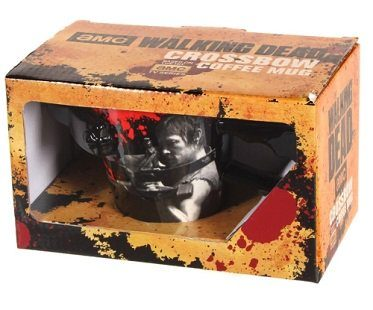 the walking dead crossbow mug box
