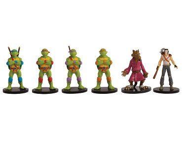 tmnt monopoly game figurines