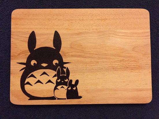 totoro-chopping-board