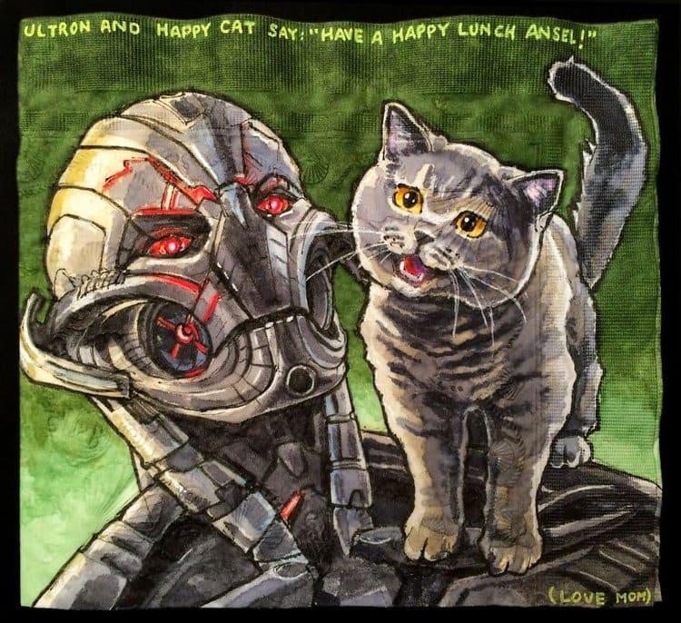 ultron happy cat