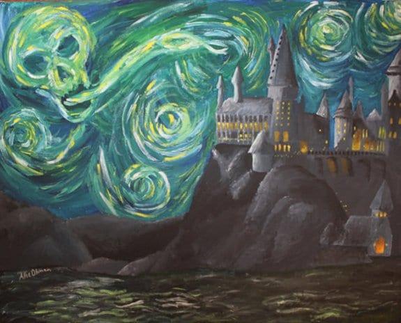 van-gogh-hogwarts
