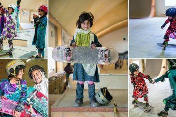 Afghan Girls Skateistan