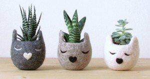 Animal Themed Planters