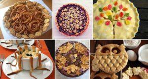 Artistic Pie designs
