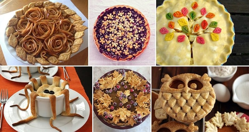 Artistic Pie designs