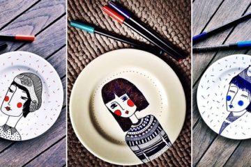 Basak Erdemir Porcelain Plates