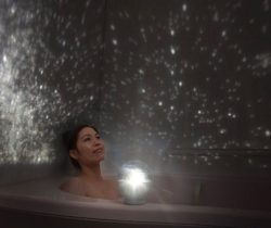Bathroom Star Projector white