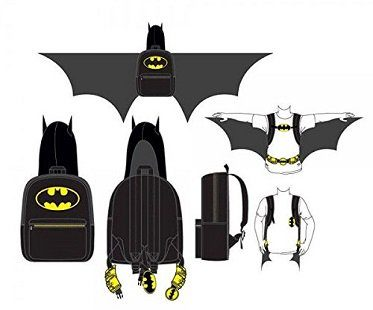 Batman Costume Backpack wing