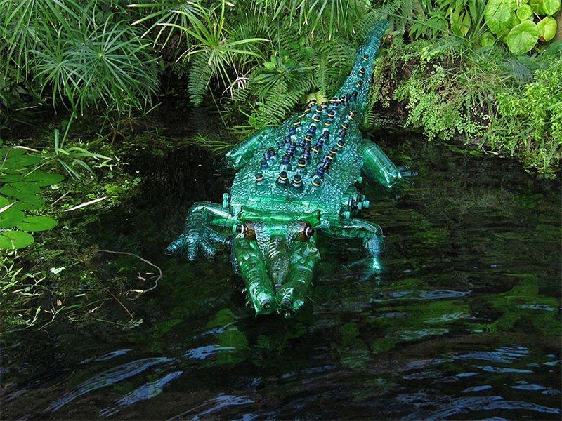 Bottle Crocodile