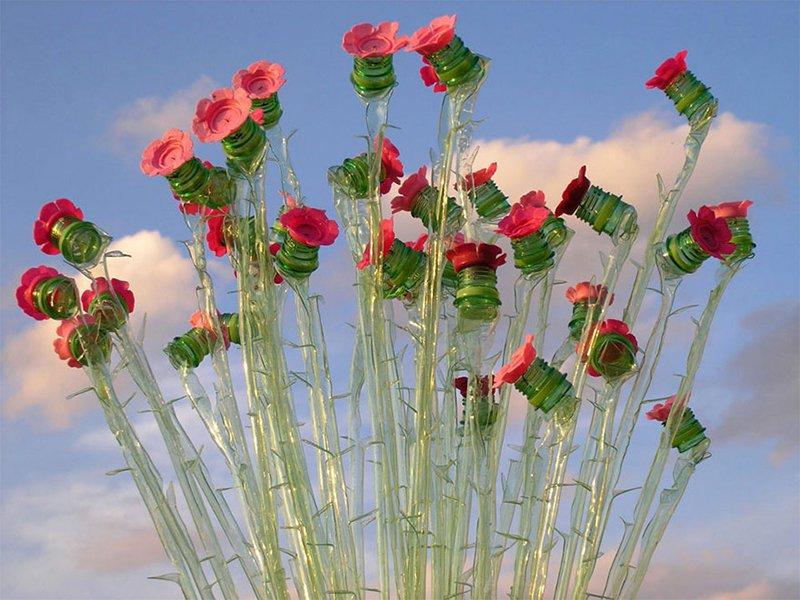 Bottle Flower
